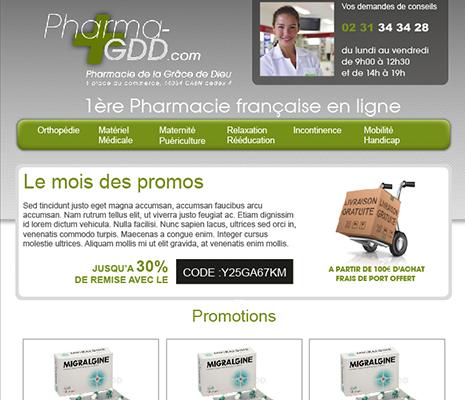 création de site web à rennes, email Pharma-GDD.com
