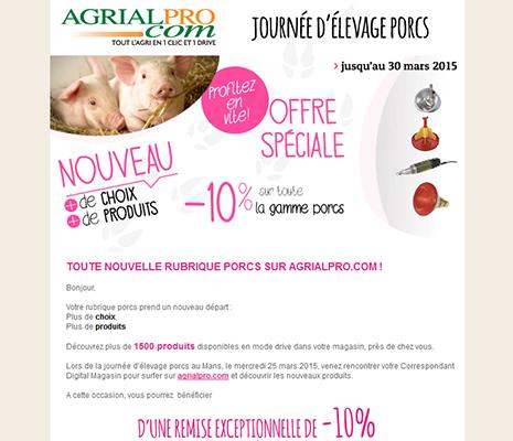 création de site web à rennes, email AgrialPro.com