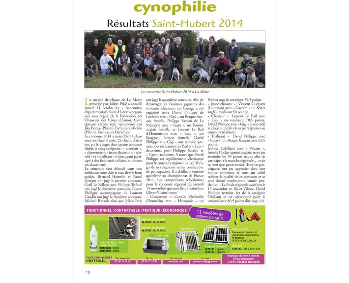 portfolio à Caen et Vire, article Cynophilie