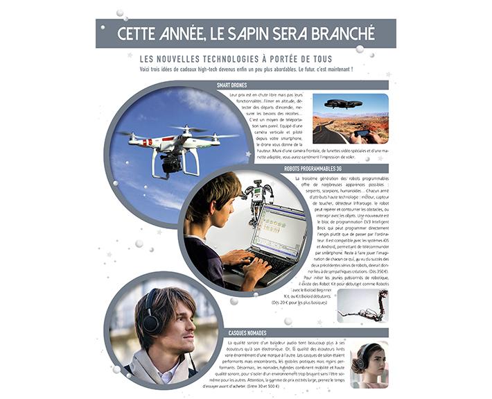 portfolio à Caen et Vire, article Cette année, le sapin sera branché
