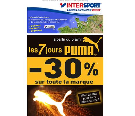création de site web à rennes, email Intersport
