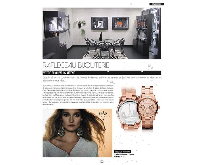 portfolio à Caen et Vire, article Raflegeau Bijouterie