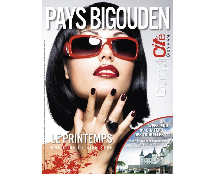"""portfolio à Caen et Vire, couverture de magazine """"Pays Bigouden"""""""
