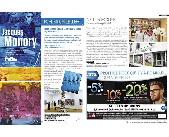 portfolio à Caen et Vire, publicité journal TV Magazine