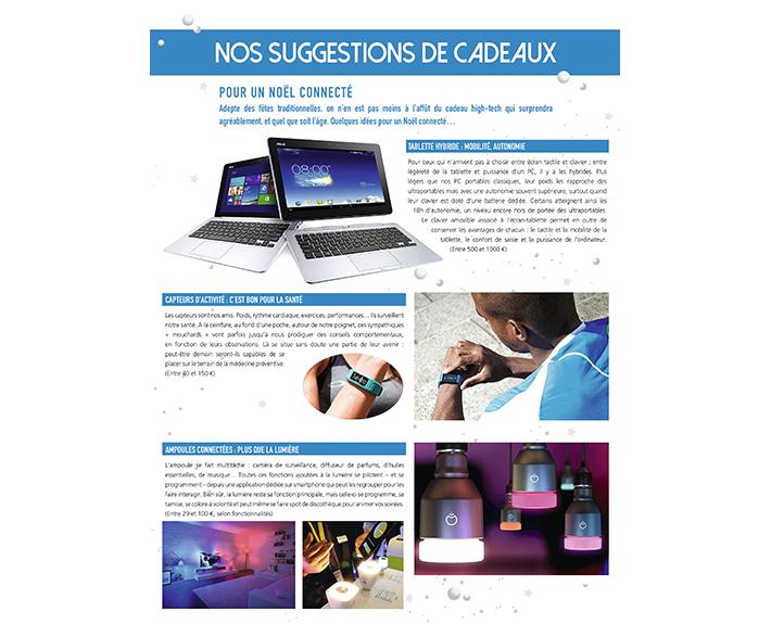 portfolio à Caen et Vire, article Nos suggestions de cadeaux