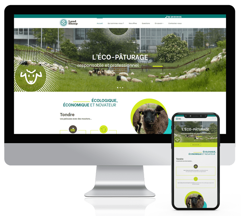 Site web personalisé sur Lisieux
