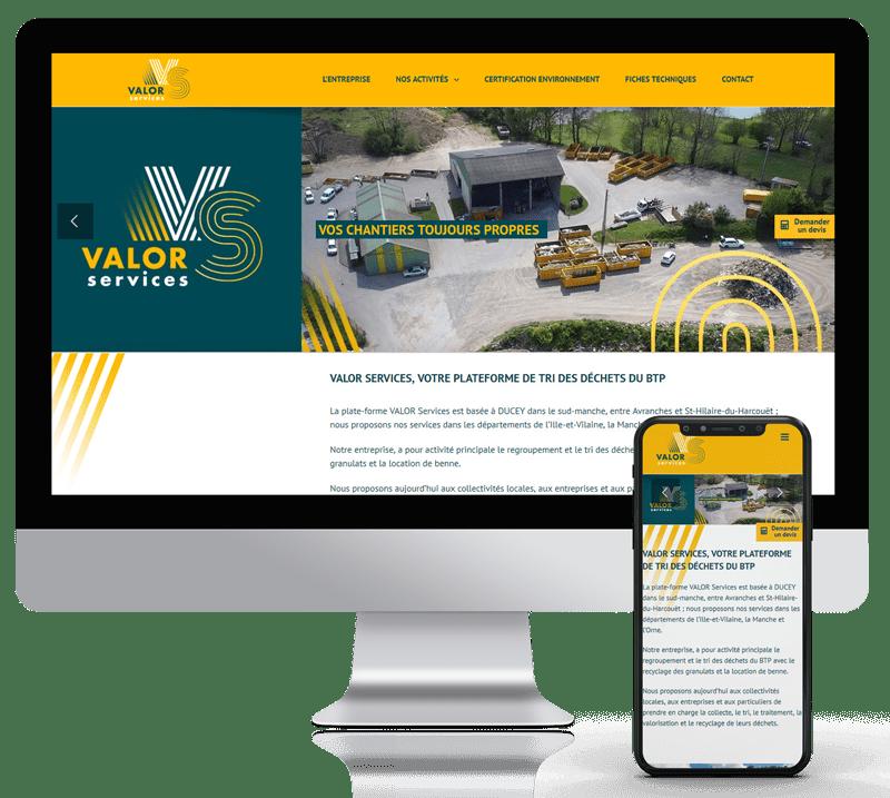 Création site web à Bayeux (Calvados)